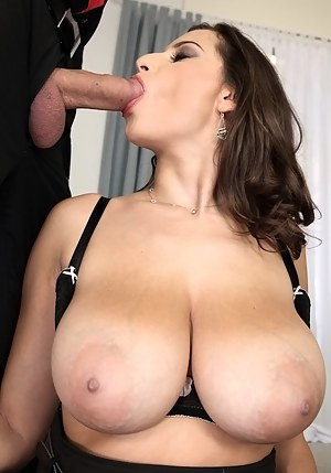 Big Tits Blowjob Porn Pictures